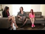 Lesbian HD Porno Elle Alexandra Allie Haze Angela Sommers - горячее лесбийское трио. Психотерапевт