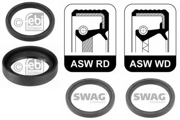 Уплотняющее кольцо, коленчатый вал для AUDI V8 (44_, 4C_)