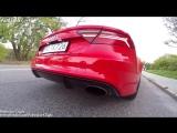 Audi RS7 vs BMW M6 vs Mercedes-Benz CLS63 S AMG - Acceleration 0-250km_h  Exhaust Sound