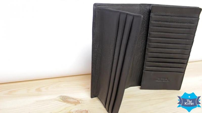 Видеообзор качественного кожаного мужского портмоне Dr.Bond M68 black
