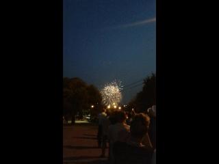 Фестиваль фейерверков в Братеево