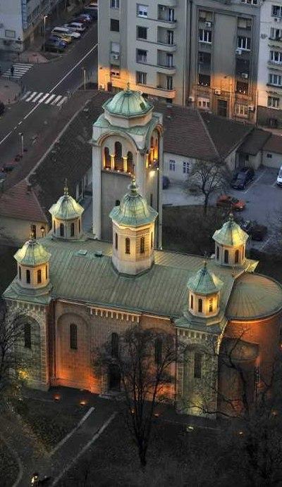 Црква Вазнесења Господњег у Београду. Фото: вазнесењскацрква.срб