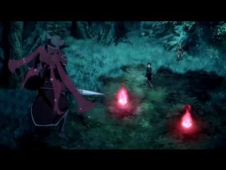 Anime mix - amv(клип из аниме мастера меча онлайн- sword art online)битва nightcore - comatose