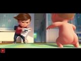 Второй трейлер на русском мультфильма «Босс-молокосос»