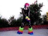 Glowstix Neon and blood Industrial Dance 8 by CyberTeddy3