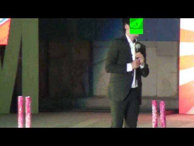 Uzeyir Mehdizade sexsen onun acigina Ozbekistan konsert (UZEYIR PRODUCTION)