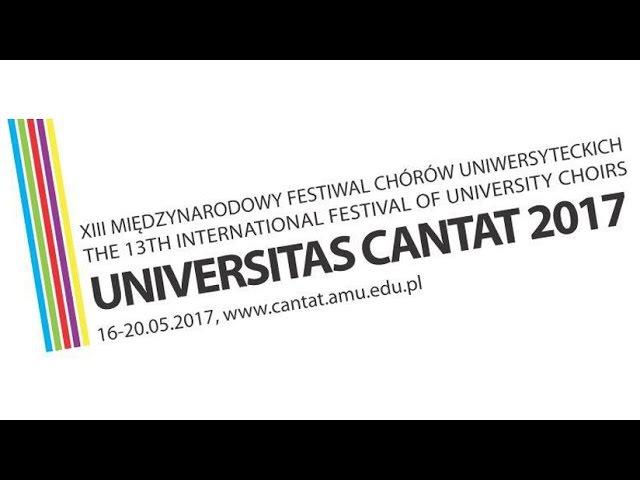 XIII МЕЖДУНАРОДНЫЙ ФЕСТИВАЛЬ СТУДЕНЧЕСКИХ ХОРОВ «UNIVERSITAS CANTAT»