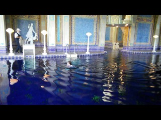 Hearst Castle Employee Jumps Into Indoor Roman Pool