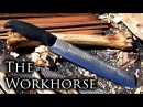 How to Make a Chopping Knife From a 2 Dollar Farrier's Rasp with Minimal Power Tools - The Workhorse