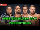 WWE Backlash 2017 SmackDown Tag Team Championship The Usos vs. Breezango Predictions WWE 2K17