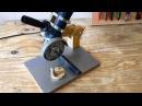 Making a Homemade Angle Grinder Stand El Yapımı Metal Kesme Standı
