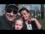 Хорошее настроение, катаемся с семьёй на роликах !!