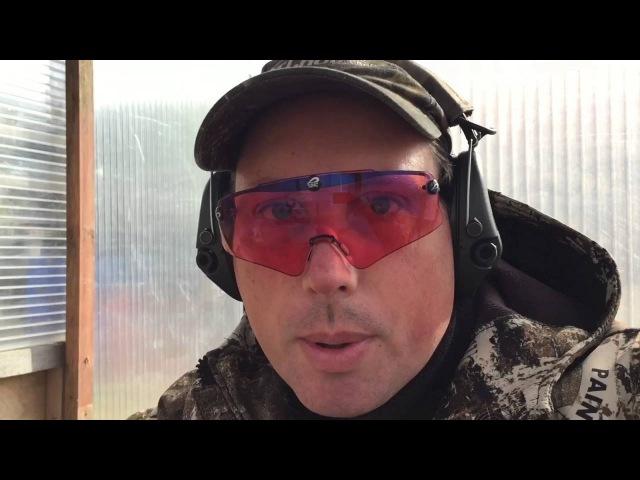 Первые отстрелы помпового ружья Бекас 12 дробовой и пулевой ствол