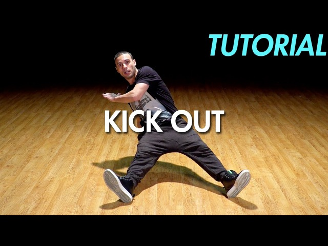 How to do a Kick Out (Hip Hop Dance Moves Tutorial: Breakdance) | Mihran Kirakosian