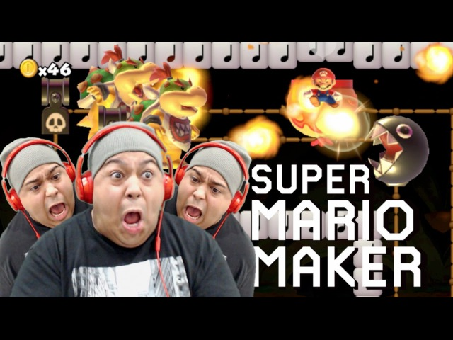THIS SHT IS UNBELIEVABLE Y'ALL I CAN'T!! [SUPER MARIO MAKER] [89]