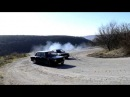 Drift BMW e30 m20b27 vs ваз 2101 16v турбо на серпантине.