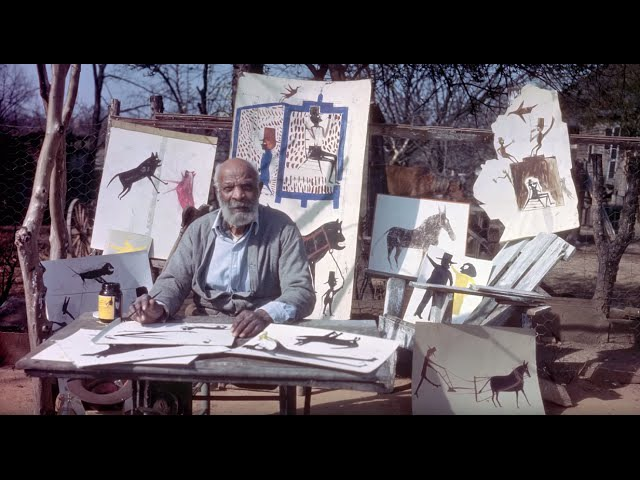 What is Outsider Art(Bill Traylor, William Edmondson)