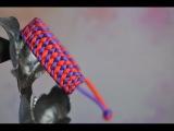 Как сделать браслет Небесное перо из паракорда  paracord bracelet Heavenly feather