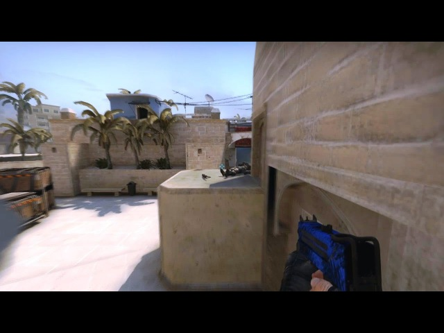 Fast QUAD-KILL with MAC-10, Mirage, CS:GO