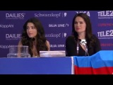 Eurovision Song Contest 2016 AZERBAIJAN Semra Qualifiers Press Conference