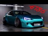 ✦ Обзор Toyota GT86 Rocket Bunny Stanced #cozydroppedstories