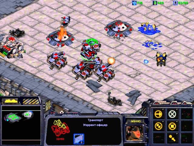 Прохождение StarСraft с комментами [миссия 9]