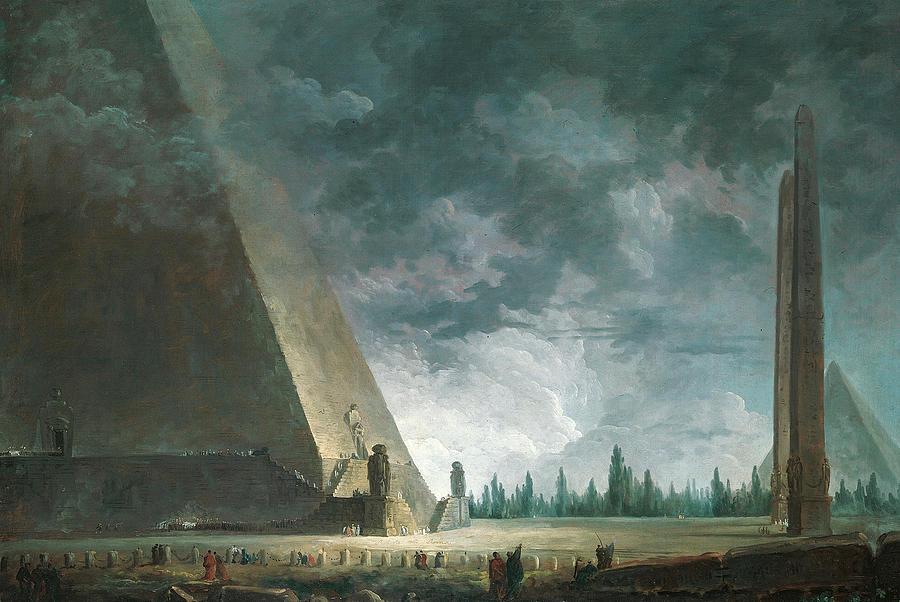 пирамида  рим пиранези