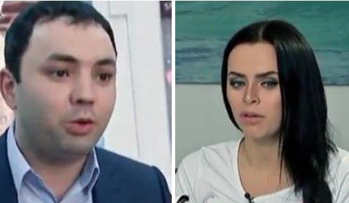 Саша Гобозов и Вика Романец в программе про аферистов
