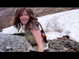 Клип -Линдси Стирлинг \ Lindsey Stirling Peter Hollens Skyrim HD 1080