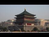 Xian, China_ City Walls  Goose Pagodas in 4K (Ultra HD)