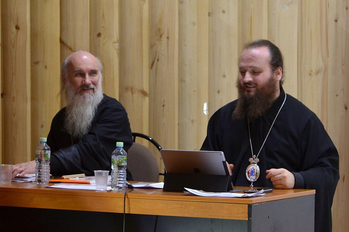 Епископ Константин (Островский), протоиерей Виктор Дорофеев