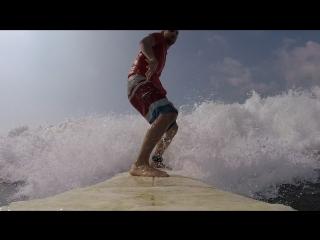 Первые шаги на сёрфе