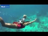 Youngest freediver in the world
