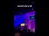 Jared eto at Venice Family Clinic Silver Circle Charity, 26.03.2017