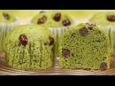 Matcha Mushipan Dessert Recipe 抹茶蒸しパン 作り方 レシピ