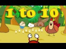 Counting 1 10 Song Number Songs for Children The Singing Walrus