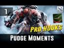 Dota 2 Pudge Moments Ep. 1 Pro Hooks