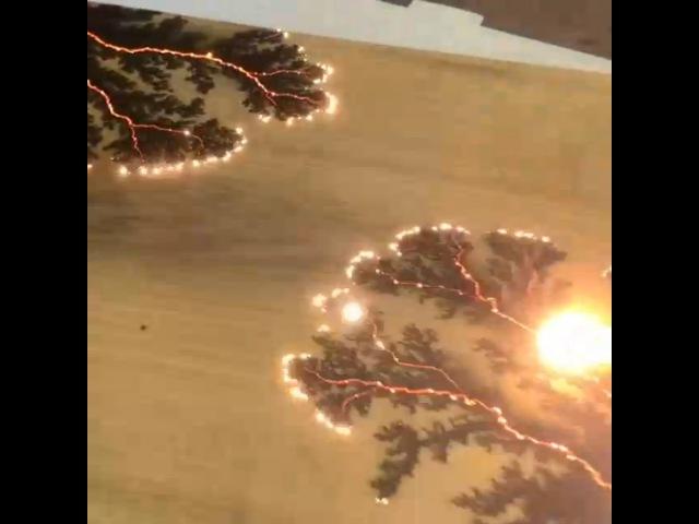 Выжигание электричеством по дереву
