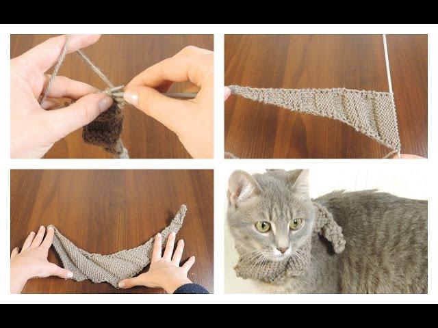 Как связать шарф-бактус (обновлено) | Школа вязания