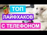 ТОП 5 ЛАЙФХАКОВ С ТЕЛЕФОНОМ!
