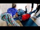 Боль и слезы - Балерины посадили на шпагат