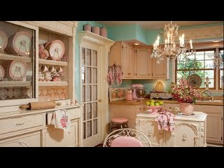 Кухня. Стиль Шебби Шик фото