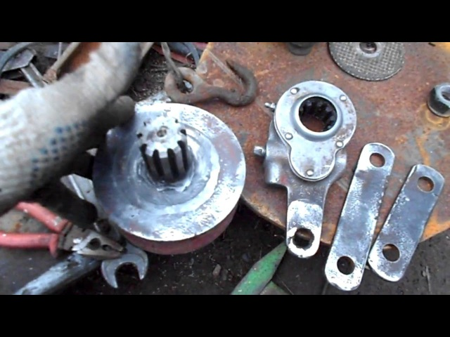 Самодельная лебедка в гараж /Homemade winch in the garage/ cfvjltkmyfz kt,tlrf d ufhf; /homemade winch in the garage/