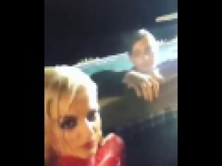 Bebe Rexha Jumped in a Pool Fully Clothed