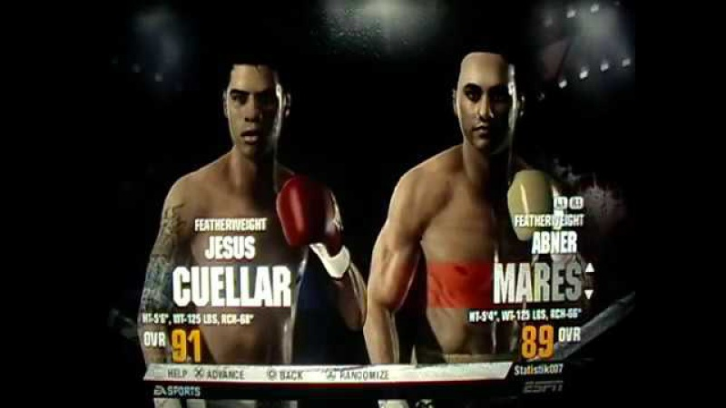 Fight Night Champion Хесус Куэльяр - Абнер Марес (Jesus Cuellar - Abner Mares)