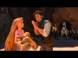 Tangled - The soldiers give chase to Flynn and Rapunzel HD