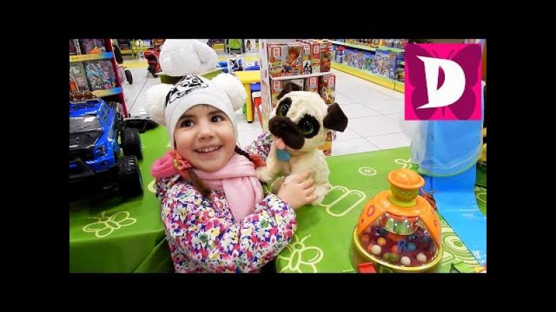 ✿VLOG ДИАНА в МАГАЗИНЕ ИГРУШЕК ИГРУШКИ Тролли Лител Понни РОБОТ Shopping in kids toys store
