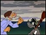Волк прикинулся рыбкой золотой- О-о- хох, старик...море море, мир бездонный.... Песенка из мультфильма Ну погоди!