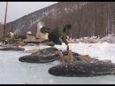 Будет рыба, Михалыч Зимняя рыбалка в Прибайкалье.