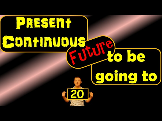 20. Английский (упражнения): TO BE GOING TO, PRESENT CONTINUOUS FOR FUTURE (Max Heart)